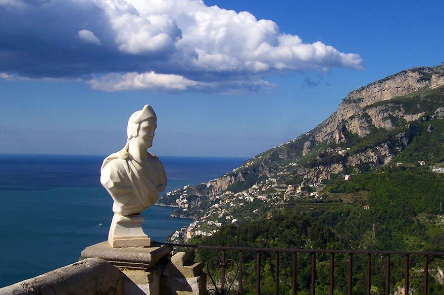 Ravello, sur la Côte Amalfitaine en Italie