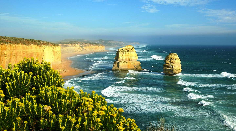 Les 12 Apôtres sur la Great Ocean Road dans le Victoria, en Australie