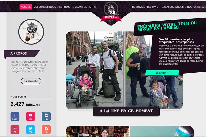Tour du monde en 80cm, blog préféré de Planet Ride