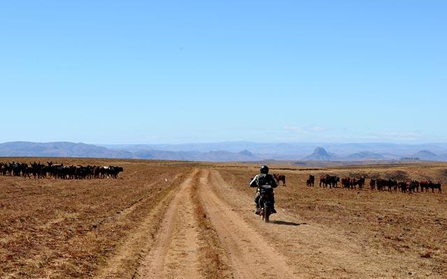 Voyage en moto enduro a madagascar avec PLanet Ride