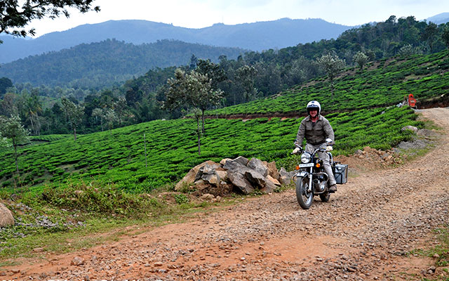 Voyage en Inde à moto avec une agence de voyage locale