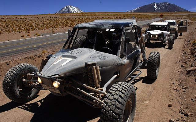 Buggy au Chili lors de votre voyage avec Planet Ride