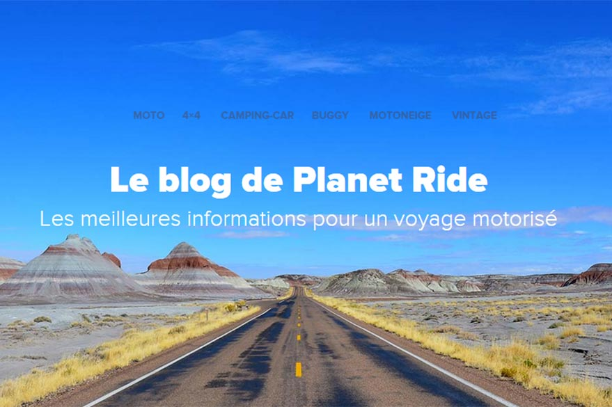 Planet Ride's Blog motor travel Specialists
