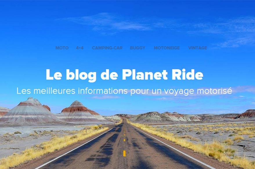 Blog de Planet Ride spécialistes du voyage motorisé