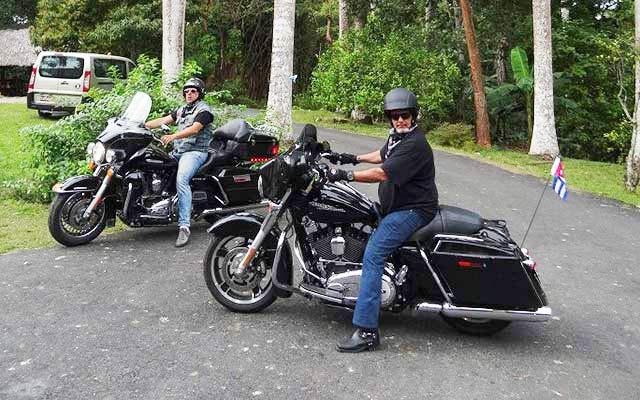 Votre Harley lors de votre voyage à Cuba avec Planet Ride