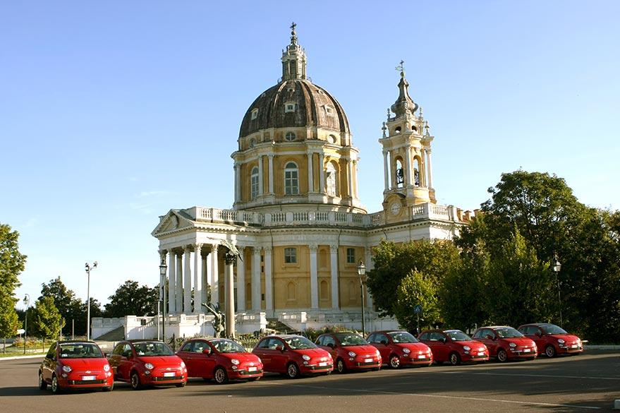 Les Fiat 500 Cabriolet de Roberta, Partenaire Spécialiste Planet Ride des voyages en Italie