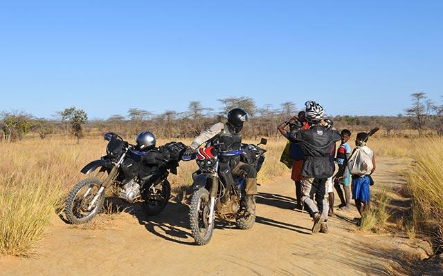 Jean - Madagascar - moto