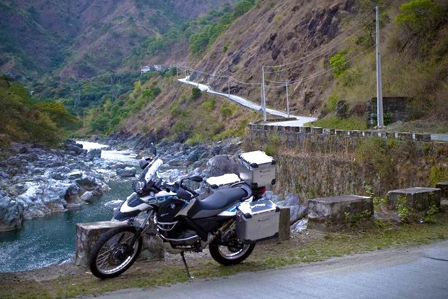 BMW Sertao, lors de votre voyage aux Philippines à moto avec Planet Ride et Philippe