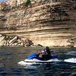 Porto Vecchio lors de votre voyage en corse en Jetski avec Planet Ride