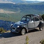 Voyage en 2cv en provence avec Planet Ride France