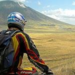 Piste lors de votre voyage en moto en Tanzanie avec Planet Ride