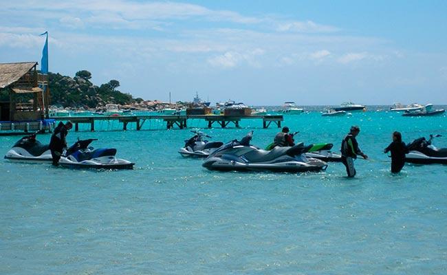 Votre voyage en jetski avec Planet Ride au sud de la corse