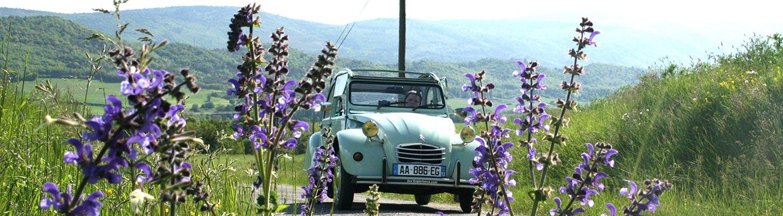 Voyage en France en véhicule mythique avec Planet Ride