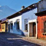 Antiga lors de votre voyage au guatemala à moto avec planet ride