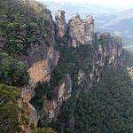 Les blue mountains, à découvrir lors d'un voyage en australie en camping car