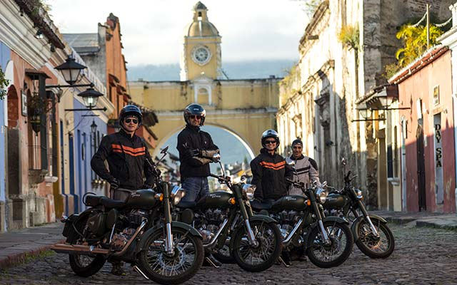 Trip to the Royal Enfield in Guatemala with Planet Ride