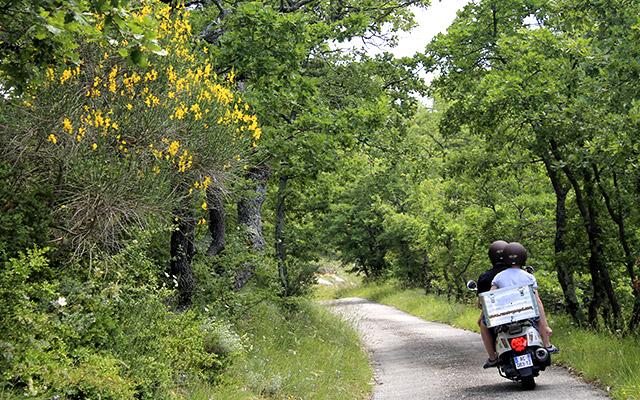 Voyage en scooter en France avec Planet Ride