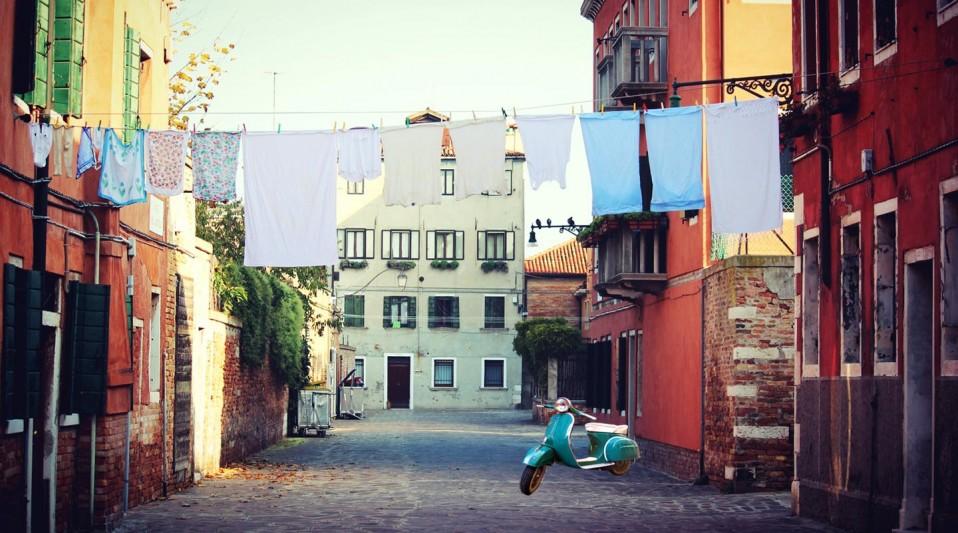 La Vespqa En Italie avec Planet Ride
