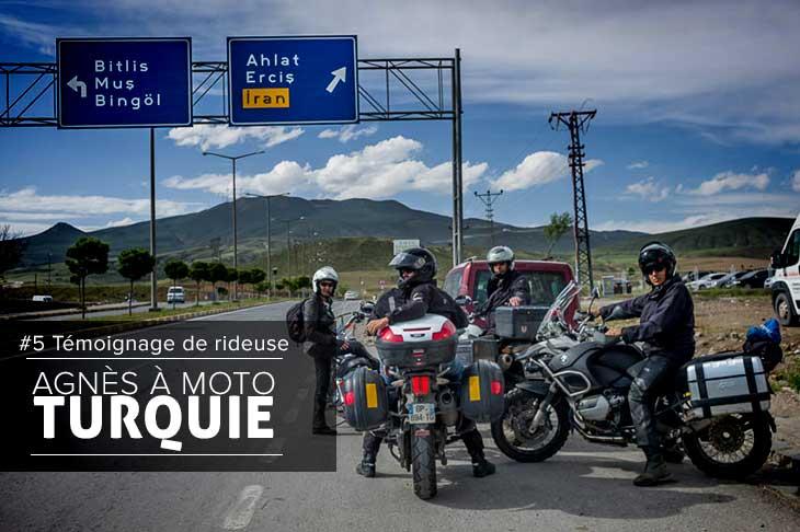 Voyage moto en Turquie le récit d'Agnès pour Planet Ride-ride