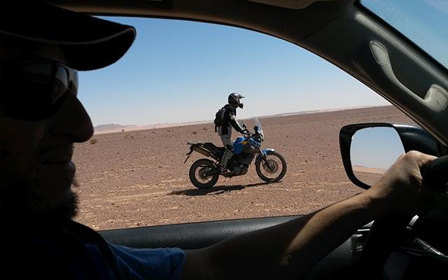 vos moto yamaha lors de votre voyage moto au maroc