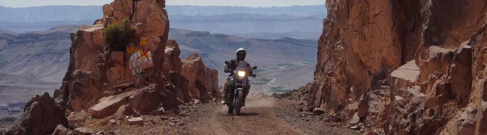 raid maroc moto