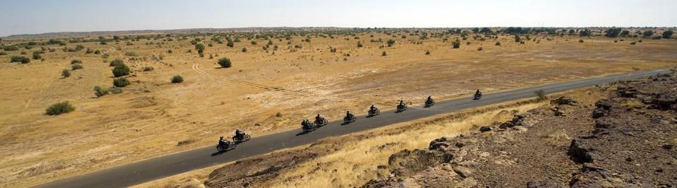 voyage moto en inde du Nord avec planet ride route
