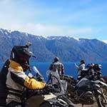 Voyage moto en Patagonie avec Planet Ride lac