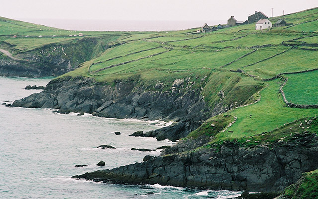 itineraire camping car Irlande