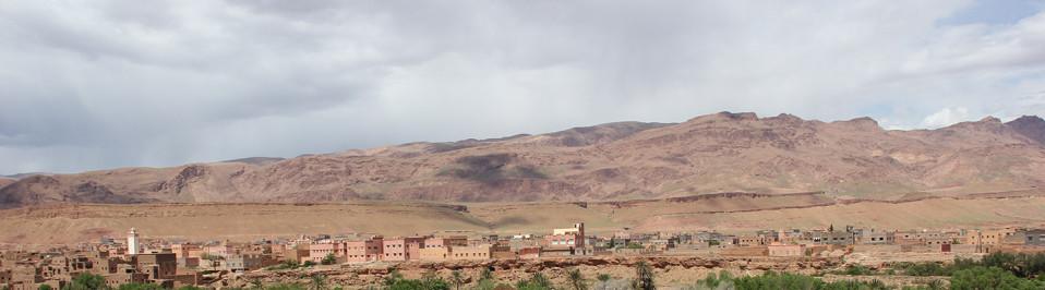 voyage camping car maroc