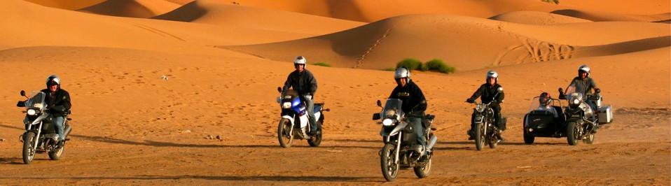 voyage maroc side car moto