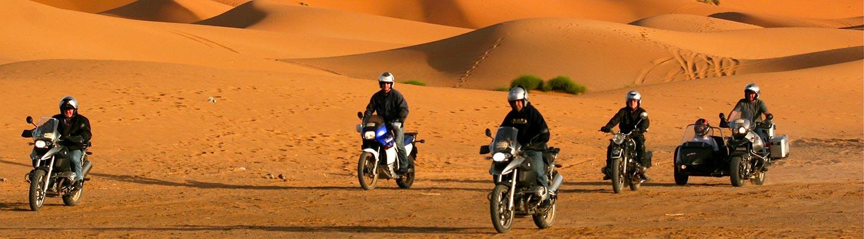 voyage au maroc en side car moto