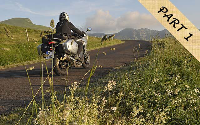 road trip moto en Auvergne