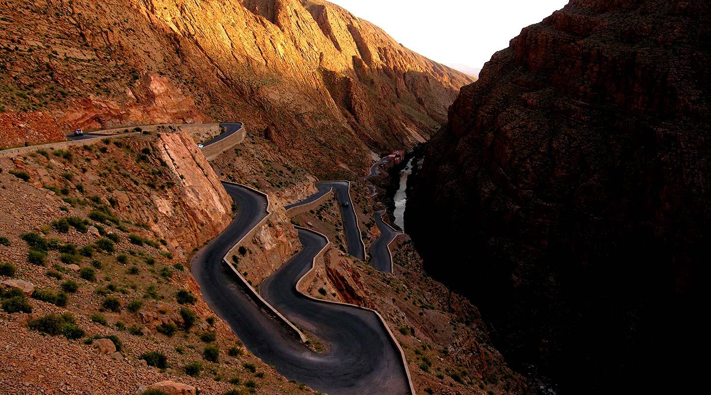 plus belles routes gorges du dadès au Maroc planet ride