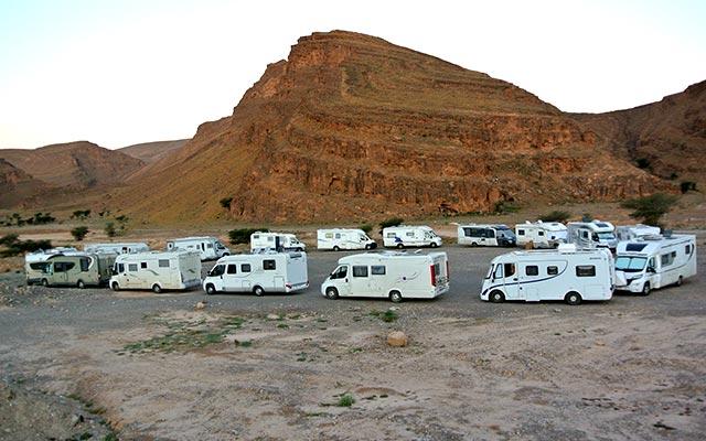 voyage maroc en camping car