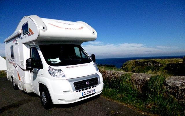 aventure camping car Irlande