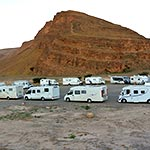 planet ride voyage au maroc en camping-car plage palmier