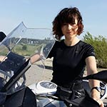 Maria - Bulgaria - Motorcycle