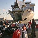 voyage moto au maroc ferry