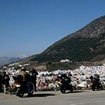 moto side car au maroc chefchaouen