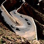 raid moto au maroc virage dades