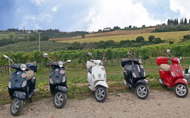 Planet Ride : Voyage en scooter en Italie