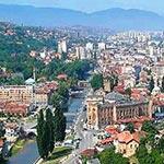 voyage en roumanie à Sarajevo dans les balkans avec Planet Ride