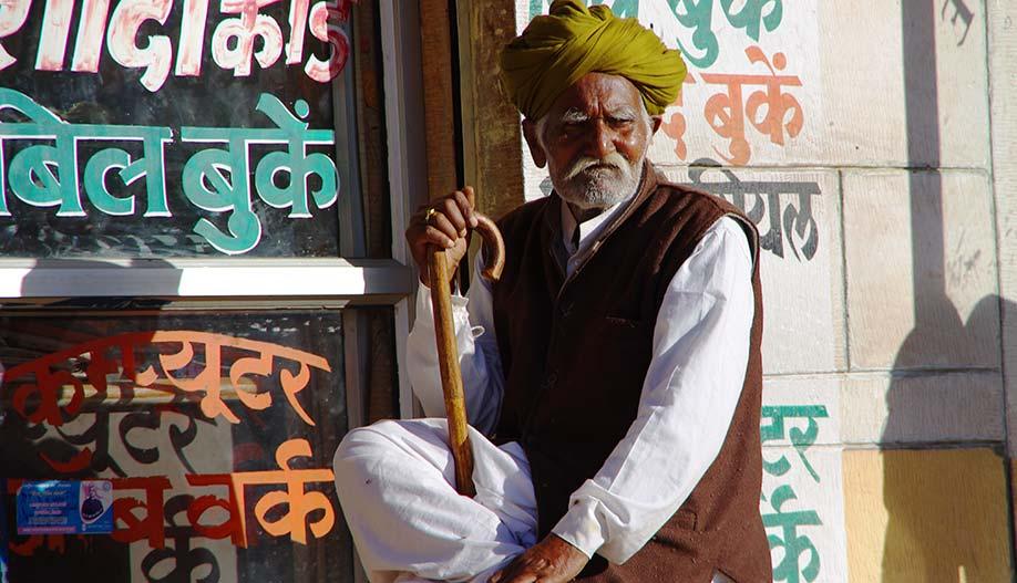 Voyage au Rajasthan moto Planet Ride homme