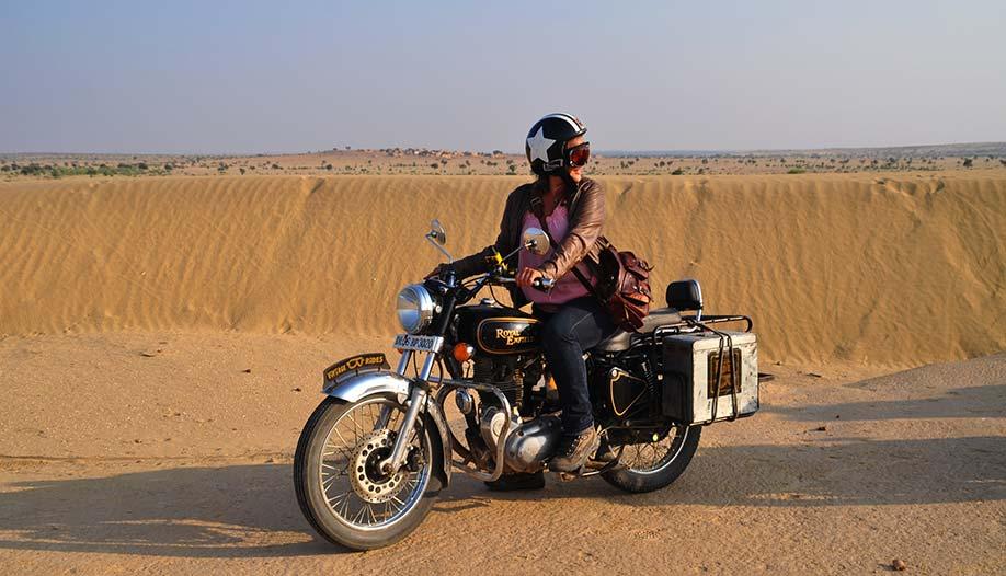 Voyage au Rajasthan moto Planet Ride motarde