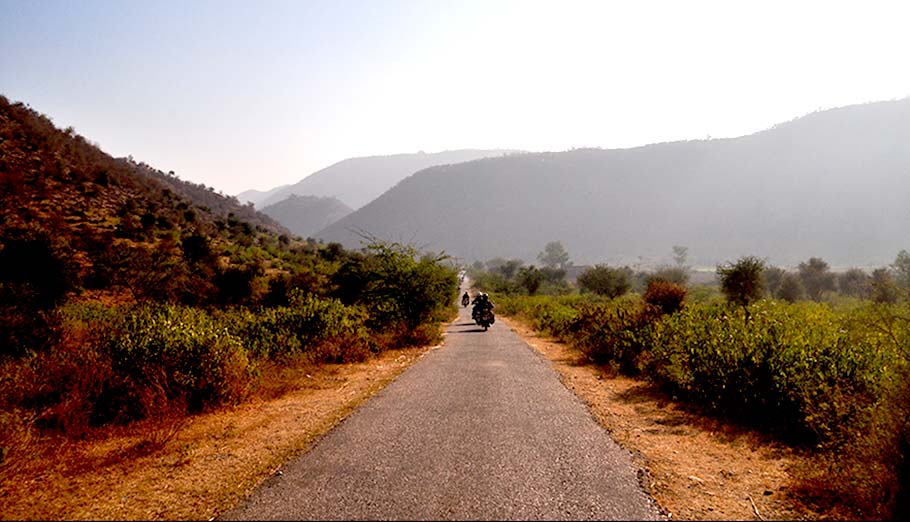 Voyage au Rajasthan moto Planet Ride route