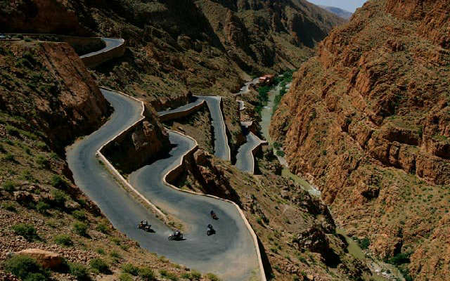 circuit moto au maroc