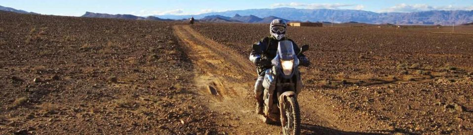 raid en moto au maroc