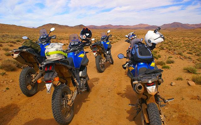 voyage maroc a moto