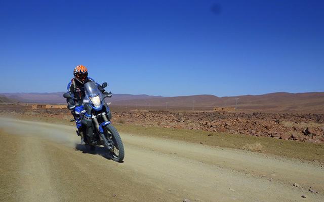 raid moto au maroc