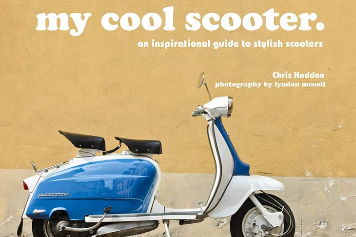 véhicule vintage my cool scooter planet ride